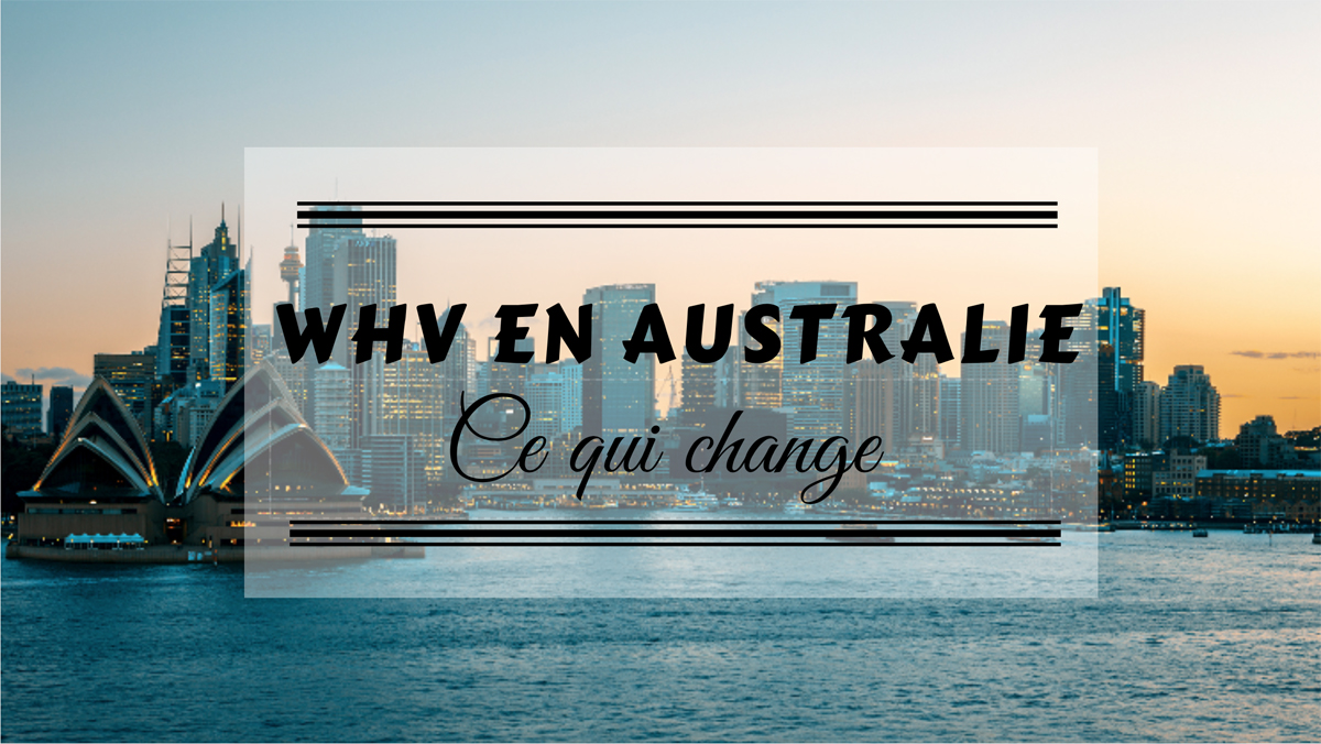 working holiday visa en Australie