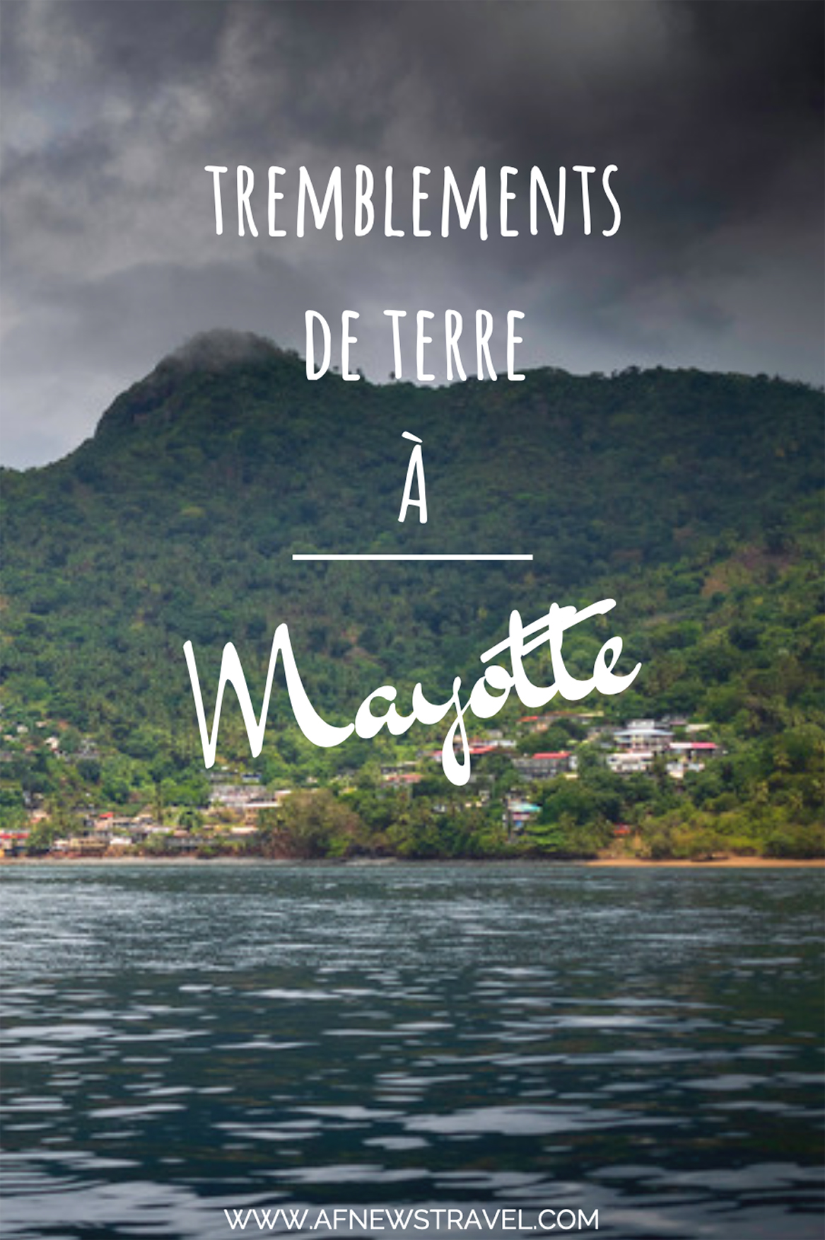 tremblement de terre à Mayotte